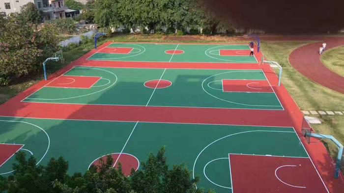 场地场馆建设-丙烯酸运动球场