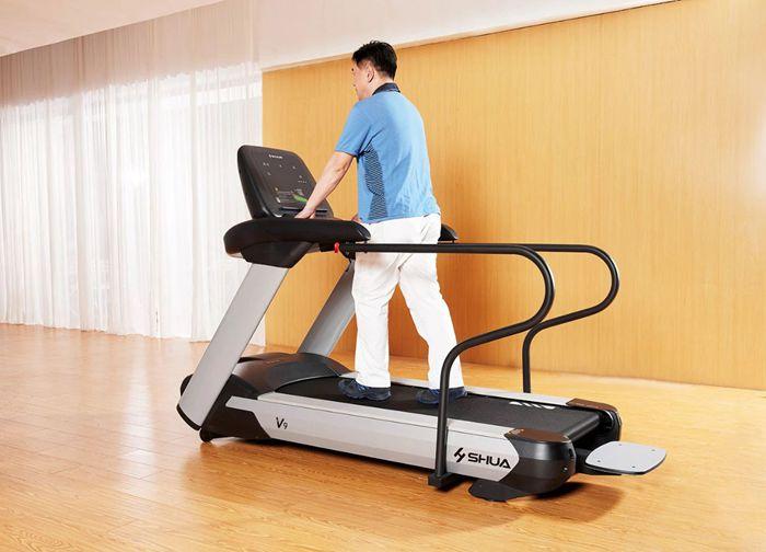 室内健身器材-舒华老年跑步机