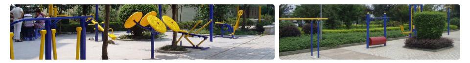 户外健身路径-广西舒华体育健身器材有限公司