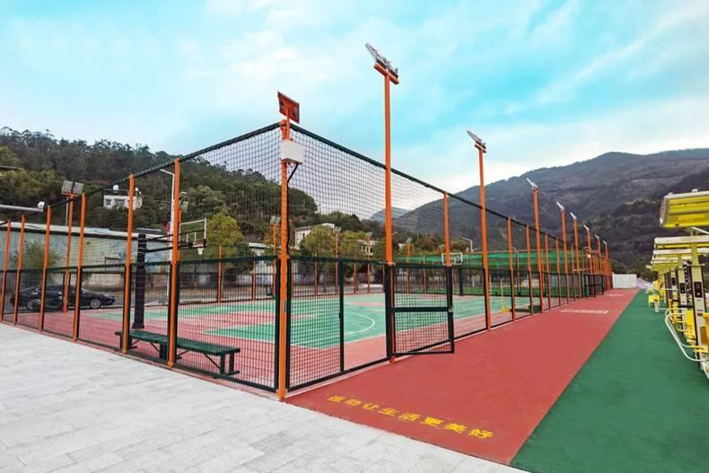 舒华体育笼式篮球场案例